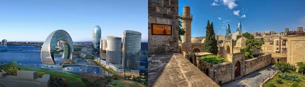 Баку с отдыхом на Каспийском море